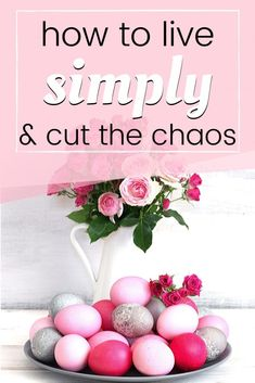 Simple living ideas to help create a peaceful life, free from stress and clutter. These simple living tips combine well with frugal living ideas to save money and become more content. Live Well For Less, Students Day, Feeling Inadequate, Peaceful Life, Frugal Living Tips, Organize Your Life, Simple Pleasures, Make Time, Simple Living