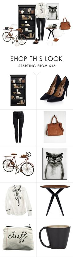 """""""Coffe stains."""" by maryamwrites ❤ liked on Polyvore featuring Ballard Designs, Topshop, Cheap Monday, Dot & Bo, J.Crew, Kate Spade and Ceramiche Bucci"""