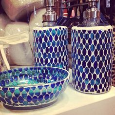 Pier 1 Mosaic Bath Accessories