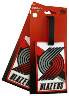 NBA Portland Trailblazers Two Pack Soft Laser Bag Tag by aminco. $13.22. Made of Non-Toxic Vinyl. item is sold as 2 pack .. Backside Allows you to Slip in a Business Card or Handwritten Card. Two Soft Laser cut Rubber Bag Tags. Road trips, vacation, or at work these soft bag tags are a perfect way to show off your favorite team affiliation anywhere you travel! Made of high quality durable material, they can withstand all kinds of weather and are the perfect accessory ...