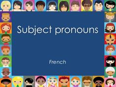 French Subject Pronoun WSM