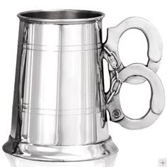This handcuff tankard would be great for the boyfriend's dad. He loves tankards, and he's a cop. lol