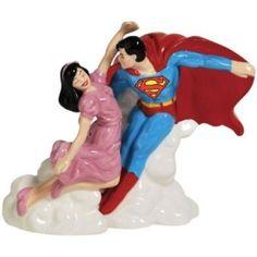 Superman Salt and Pepper Shaker