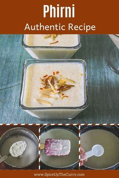 This rice phirni is the traditional Indian dessert and made during festivals like Diwali, Raksha bandhan, karwa chauth. This creamy, rich, super yum and easy to make phirni is nothing but ground rice sweet pudding garnished with almonds, pistachios, rose petals and saffron. Pistachios, Almonds, Raksha Bandhan, Indian Desserts, Ethnic Food, Something Sweet, Rose Petals, Diwali
