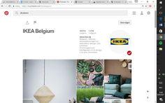 Ikea maakt heel goed gebruik van Pinterest door mooie beelden te delen van hun aanbod. De meubels worden afgebeeld in een leuke omgeving, Hierdoor worden de volgers van Ikea geïnspireerd. https://nl.pinterest.com/ikeabelgium/