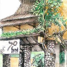 "251 Suka, 2 Komentar - Valentina Anna Piuma (@_valentinanna23_) di Instagram: ""Inconfondibile. Concetto spaziale, 1962. . . #luciofontana #concettospaziale #artwork…"" City Sketch, Inktober, Anna, Instagram, Drawings, Sketches, Painting, Painting Art, Draw"