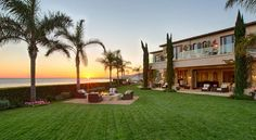 Gigi Hadid Childhood Home - Yolanda and David Foster's Malibu Mansion