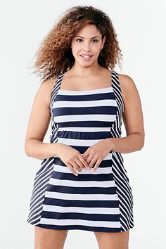 5764e0657f Shop Women s Plus Size Swimwear   Bathing Suits from Lands  End today.  Explore our collection of bikini   tankini separates