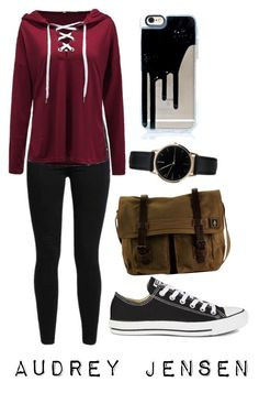 """""""Scream"""" by emmancarr on Polyvore featuring Levi's, Converse, DamnDog and Freedom To Exist"""