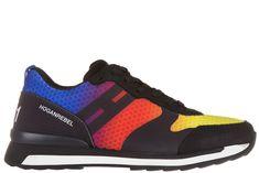 HOGAN REBEL MEN'S SHOES LEATHER TRAINERS SNEAKERS R261 3D. #hoganrebel #shoes #