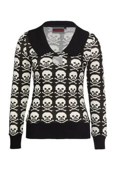 Skull Candy Gothabilly Jumper | RK Edge, Home of Psychobilly Fashion Clothing