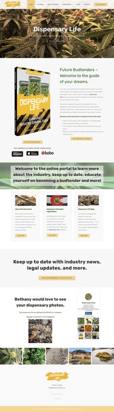 Website designed: www.DispensaryLife420.com Portfolio Website, Web Design, Design Web, Website Designs, Site Design