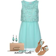 """Summer Wedding Guest"" by amo-iste on Polyvore"