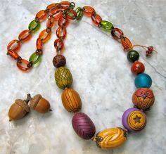 viva la vida necklace  . . . by marthasrubyacorn on Etsy, $63.00