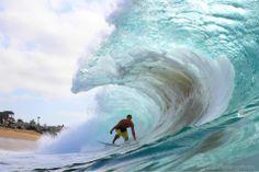 Into the barrel with Morgan Just. Shore Break, Barrel, Shots, Waves, Community, Nice, Athletes, Photography, Outdoor