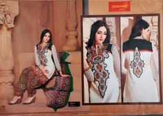 Self cotton suit Latest Punjabi Suits, Cotton Suit, Stuff To Buy
