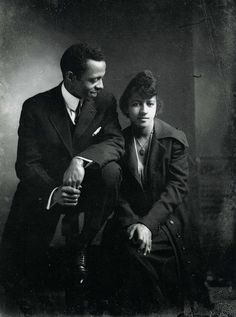 Unidentified Couple, circa1920, photo by Richard Samuel Roberts, via South Carolina ETV, Flickr set