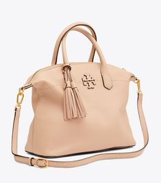 096f1c09cfff Visit Tory Burch to shop for Mcgraw Slouchy Satchel and more Womens View  All. Find