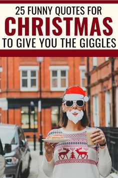holiday quotes 25 Funny Christmas Quotes To Give You The Giggles This Holiday Season Holiday Quotes Christmas, Funny Christmas Tree, Send Christmas Cards, Christmas Humor, Funny Christmas Quotes, Christmas Inspirational Quotes, Family Christmas, Inspiring Quotes, Holiday Ideas