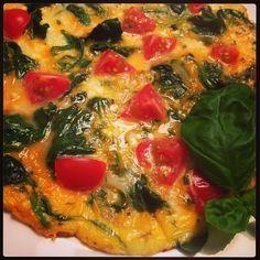 Spinat-Omelette