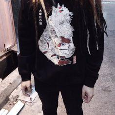 """「木曜日の猫」""""Neko"""" Premium Sweatshirt"""