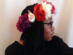 Floral headband - summer 2014 #hippiedreamer #diy #fashion