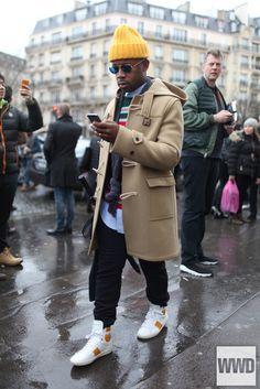 womensweardaily: TAW: Paris Men's Fashion Week Fall 2014 Photo...