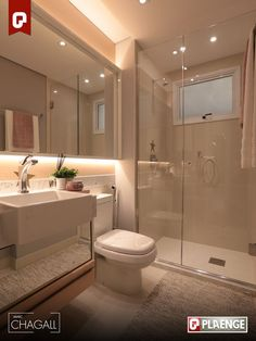 Most Popular Small Bathroom Remodel Ideas on a Budget in 2018 This beautiful look was created with cool colors, and a change of layout. Bathroom Remodel Shower, House Design, House, House Bathroom, Home, Modern Bathroom, Bathroom Design Small, Bathroom Design, Bathroom Decor