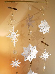 Mobile de noël #deconoel #decorationnoel