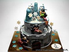 Tort zamek z wróżkami