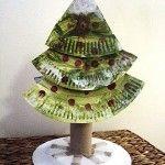 Paper+Plate+Christmas+Tree
