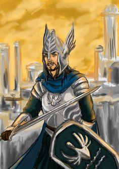 Imrahil Prince of Dol Amroth by GonzaloTrasancos.deviantart.com on @DeviantArt