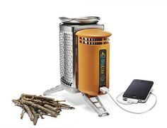 Stove Charges iPhone With Fire - DesignTAXI.com