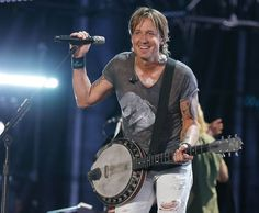 Keith Urban played the CMA Music Festival in Nashville in June.