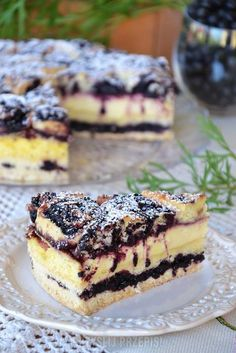 dates in chocolate: cheesecakes Polish Desserts, Polish Recipes, Cookie Desserts, No Bake Desserts, Delicious Desserts, Yummy Food, Sweets Recipes, Baking Recipes, Cake Recipes