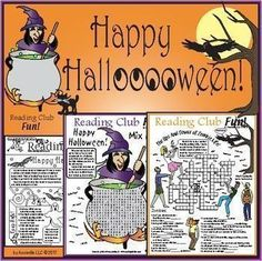 Halloween Set - Zombies, Witches & Safety and Healthful Treats Halloween Puzzles, Halloween Word Search, Halloween Words, Cute Halloween Costumes, Halloween Treats, Halloween Worksheets, Halloween Stuff, Preschool Activities At Home, Nature Activities