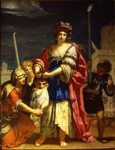 Elisabetta Sirani Judith with the Head of Holophernes century Medium oil on canvas Height: 236 cm in). Width: 183 cm in). Current location Lakeview Museum of Arts and Sciences Illinois Source/Web Gallery of Art: Book Of Judith, Bologna, Judith And Holofernes, Women Artist, Renaissance, Female Painters, Web Gallery, Italian Painters, Oil Painting Reproductions