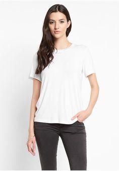 The Fifth Label Hard To Beat T-Shirt Damen Basic T-Shirt, weiß, size: L