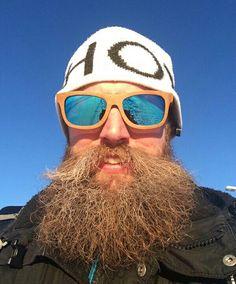 Full Beard, Epic Beard, Best Beard Styles, Long Beards, Beard Tattoo, Beard No Mustache, Hairy Men, Oakley Sunglasses, Beard Care