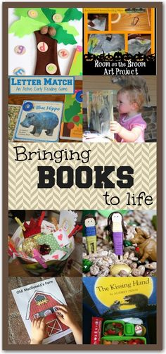 10 Activities to Bring Books To Life