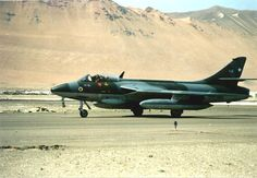 Chilean Hawker Hunter N° 734.