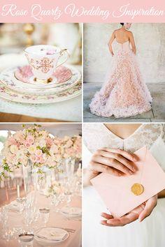 Pantone 2016: Rose Quartz + Serenity Wedding Inspiration | Wedding Blog, Wedding Planning Blog | Perfect Wedding Guide