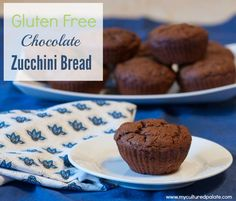 Now, an old favorite has a new twist! Not only is zucchini bread gone gluten-free, it now includes an all time favorite - chocolate! FInd the recipe for Gluten-Free Chocolate Zucchini Bread at http://myculturedpalate.com/2013/12/17/gluten-free-chocolate-zucchini-bread/