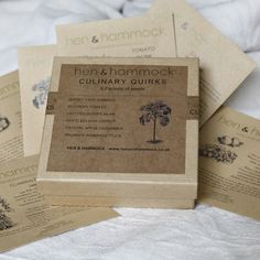 Gift Box Of Heritage Vegetable Seeds For The Allotment Holder Who Has Everything
