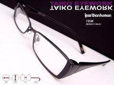 5e19790fd79 Less Than Human ala Designer Frame European Fashion Eyeglasses