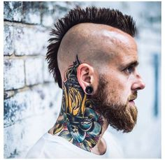 Lantern Neck Tattoo #Mohawk-pin it from carden