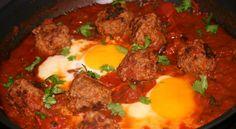 Kefta Tagine with eggs