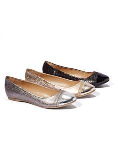 Zip-Toe Ballet Flat - New York & Company