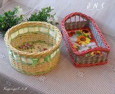 Корзины, хлебница, приправницы. фото 3