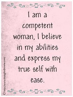 http://dailyaffirmations.hubpages.com/hub/Daily-Affirmations-for-Women